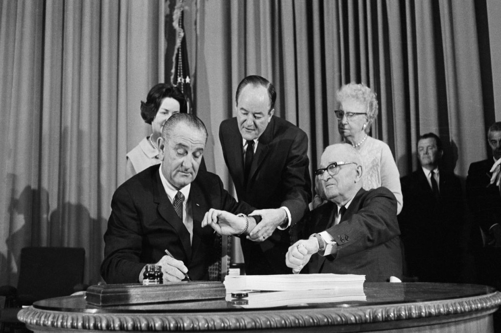 Priority Health - Medicare - Medicare History - Signing of Law