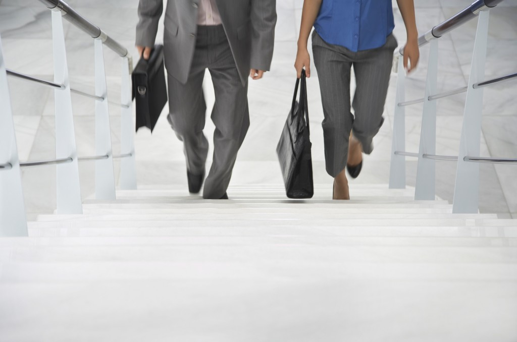 Priority Health - Wellness in Business - Healthy at Work - Stairs