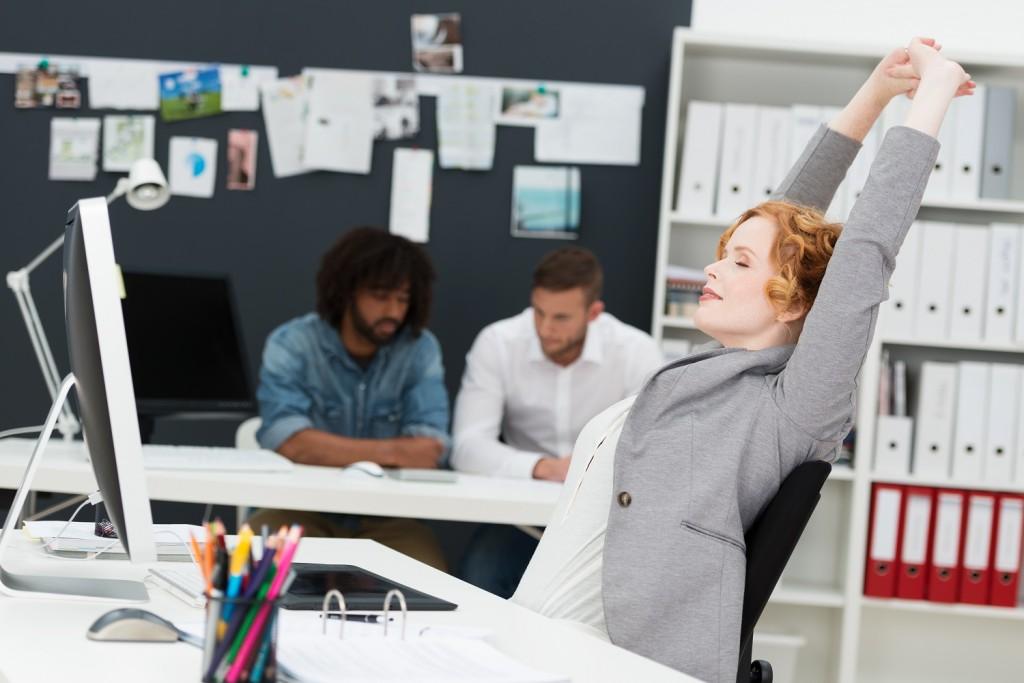 Priority Health - Wellness in Business - Healthy at Work - Stretch