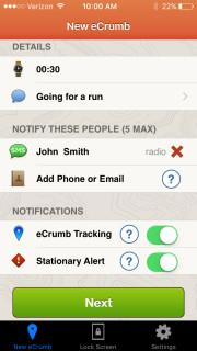 Priority Health-Innovation-Health app-RoadID ecrumb