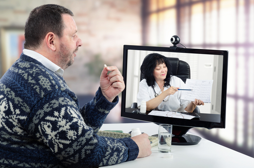 Priority Health_Business_Virtual Visit_Telemedicine_Office Desk