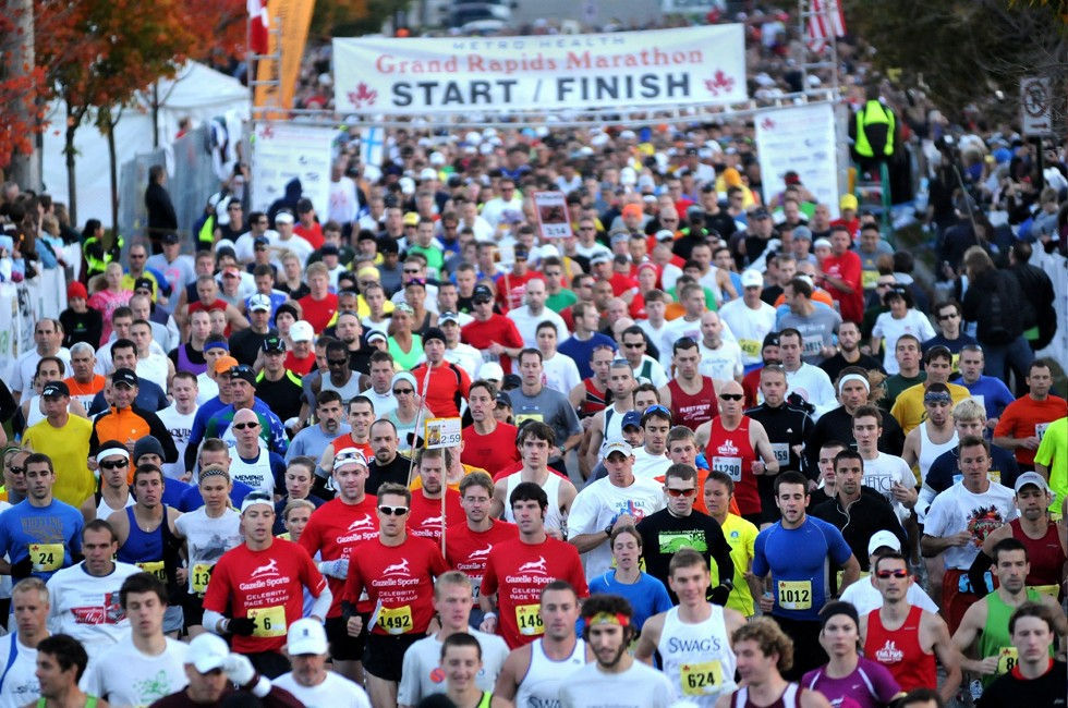 Priority Health_Personal Wellness_Local Marathons_Michigan Races_Grand Rapids Marathon
