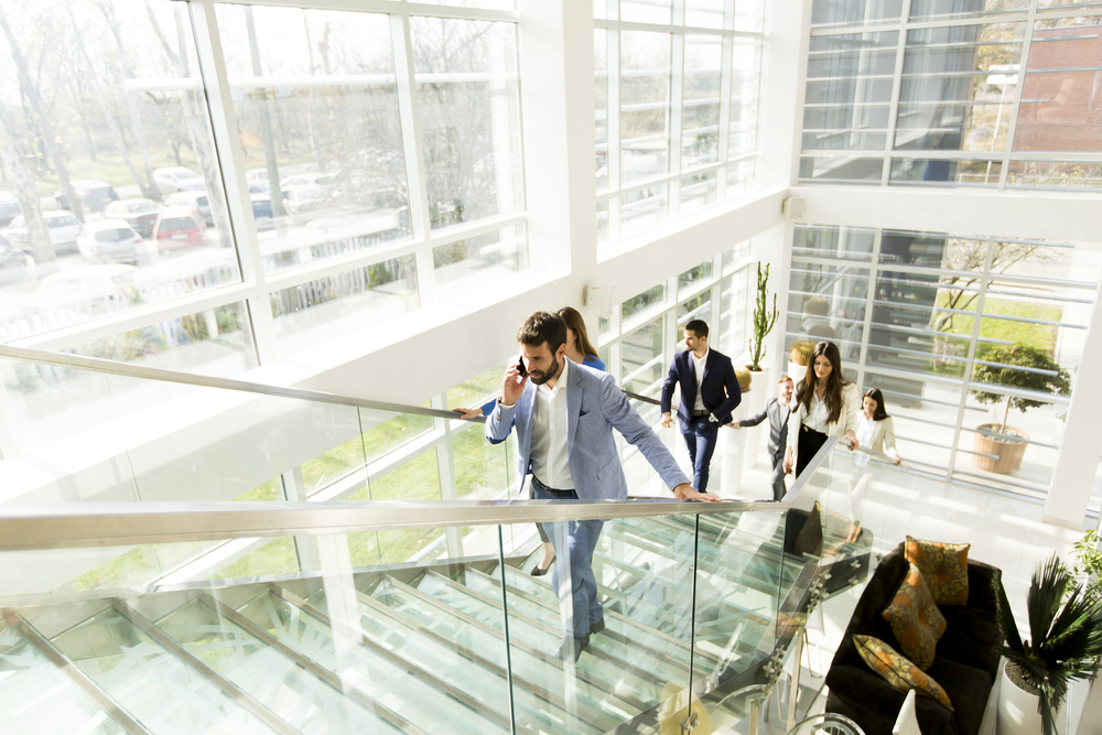 Priority Health_Wellness in Business_Office Wellness_Healthier Workday_Talking the Stairs