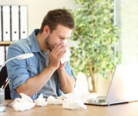 Seasonal Flu Slows Productivity: 7 Tips to Keep Your Office Healthy