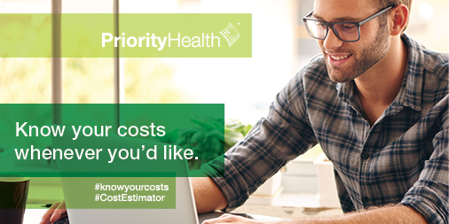 Priority Health innovation transparency cost estimator infosnack
