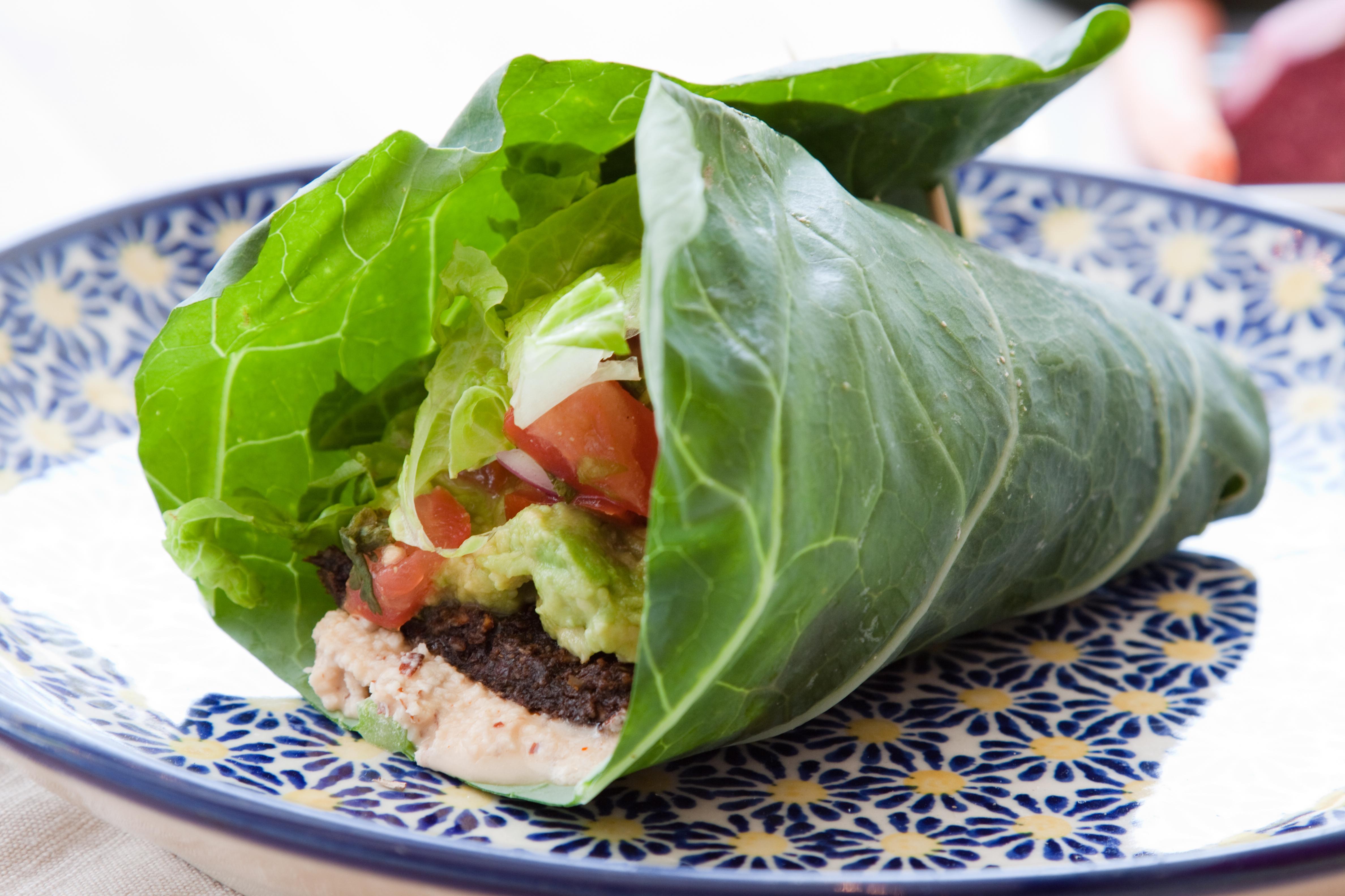 Priority Health Personal Wellness Veggie Swap Lettuce Wrap