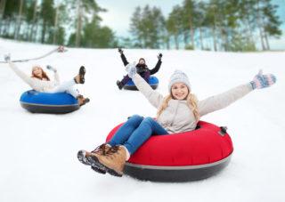 Priority Health Personal Wellness Winter Activities Tubing