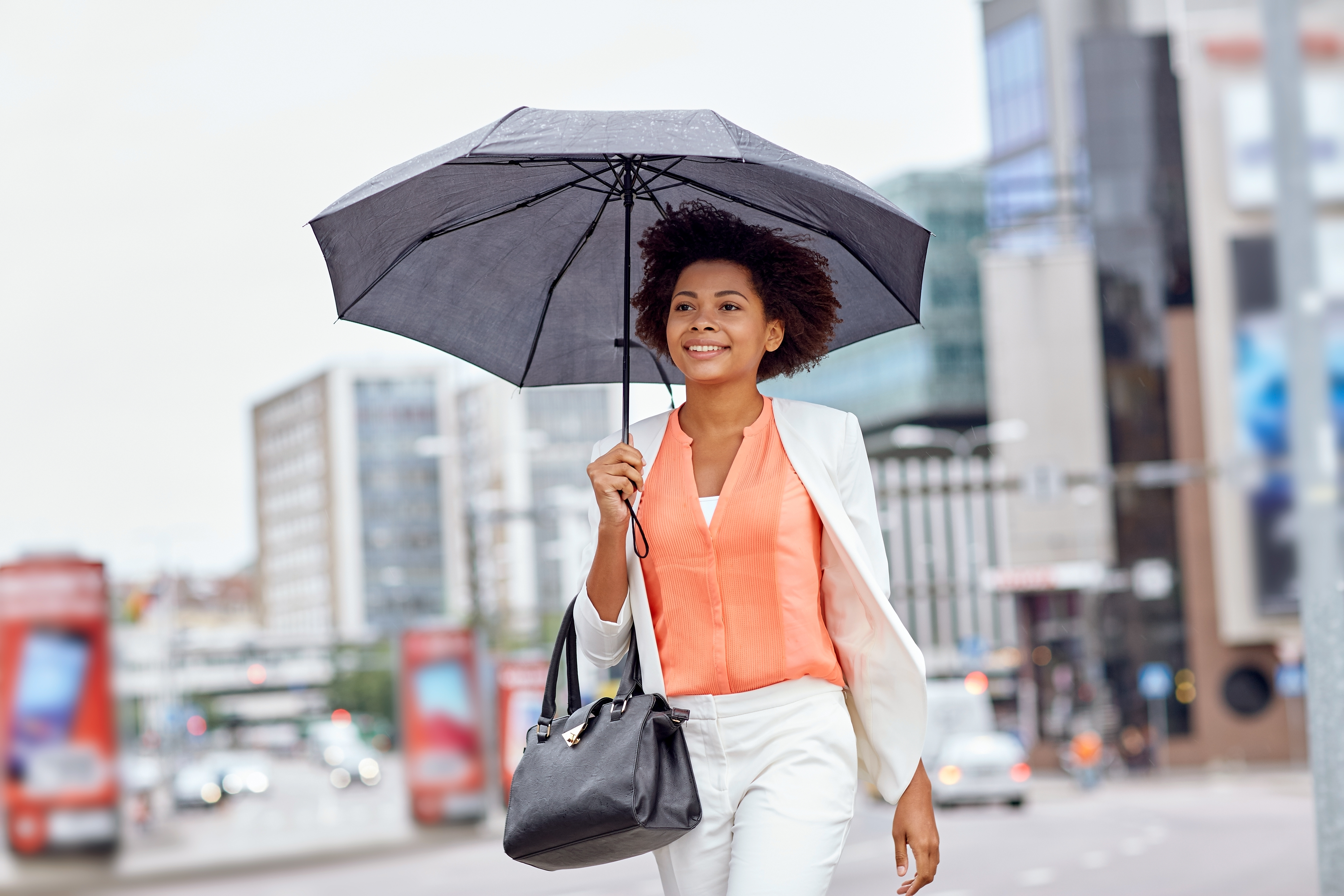 Priority Health Personal Wellness Active Rainy Day Walk With Umbrella