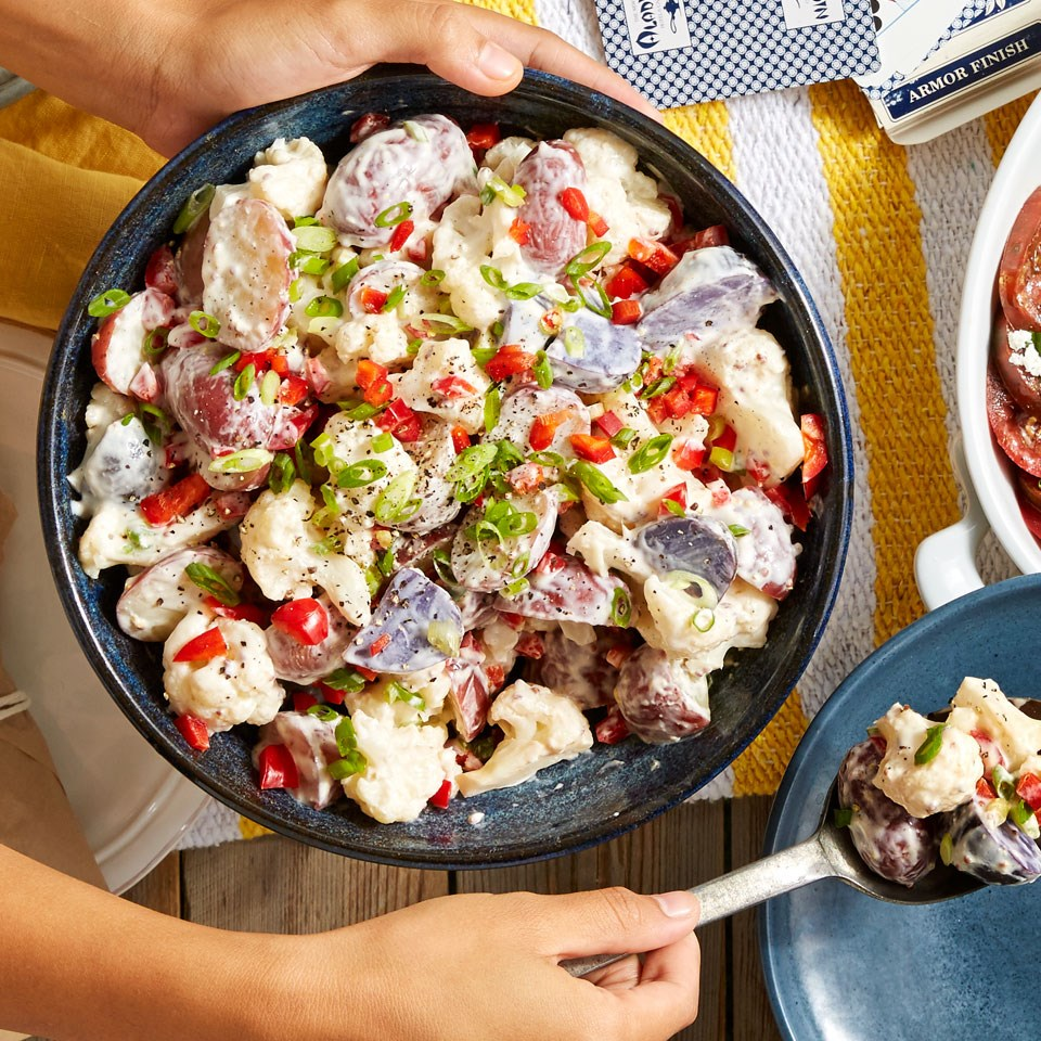 priority health personal wellness healthy bbq 4th cauliflower potato salad