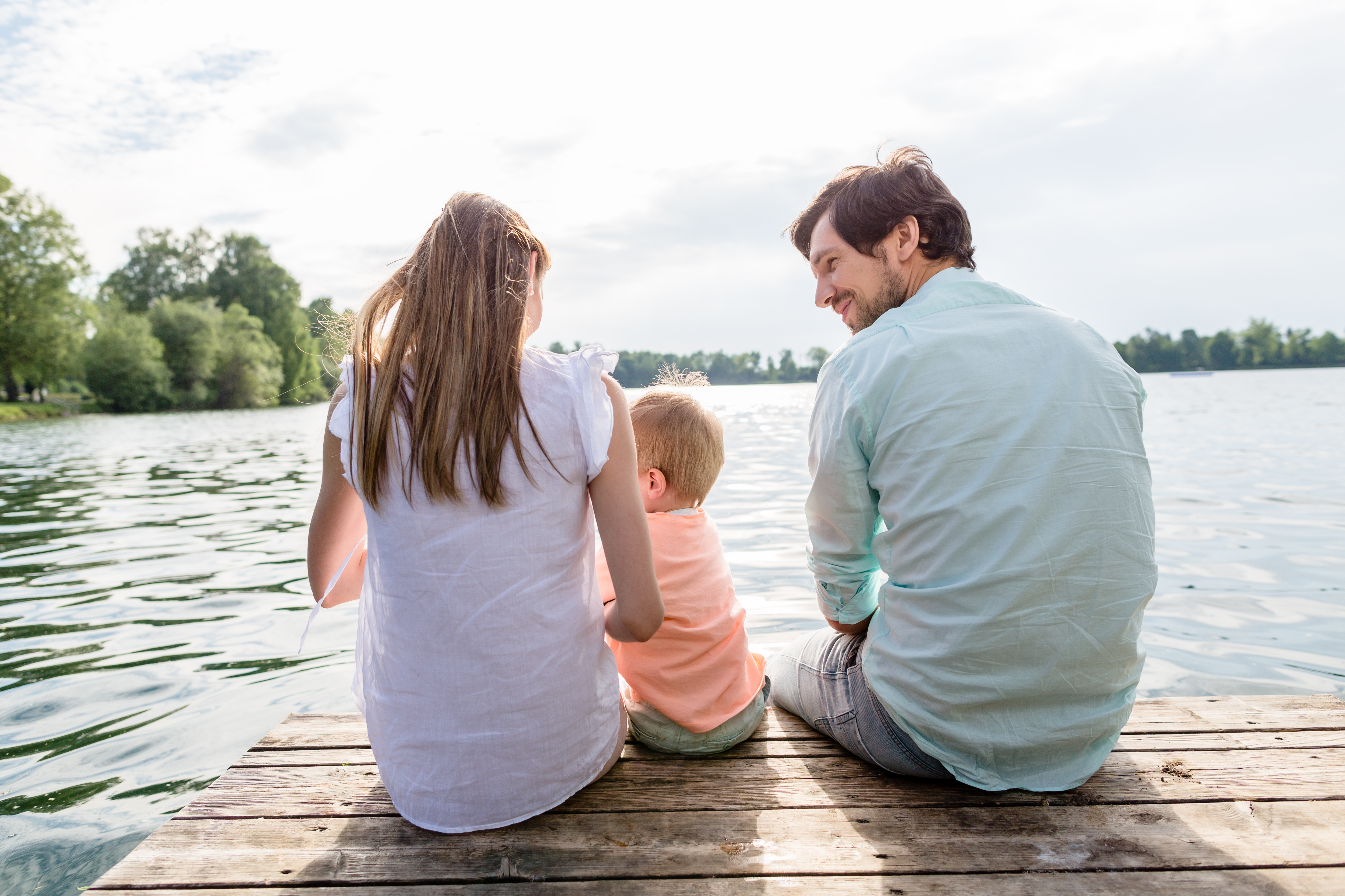 priority health personal wellness water safety family on dock