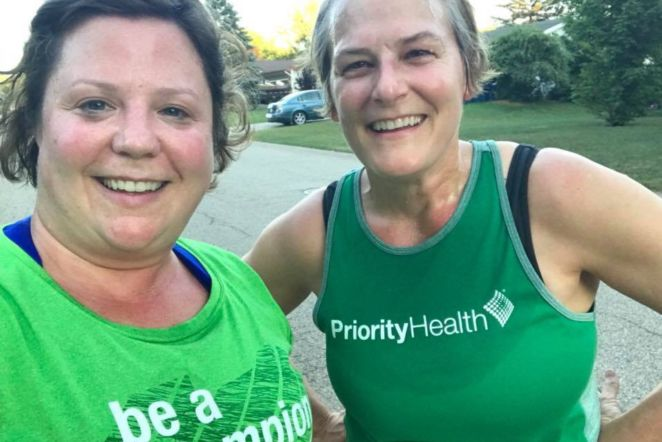 No Runner Up: Two Champion Friends Racing Across the Finish
