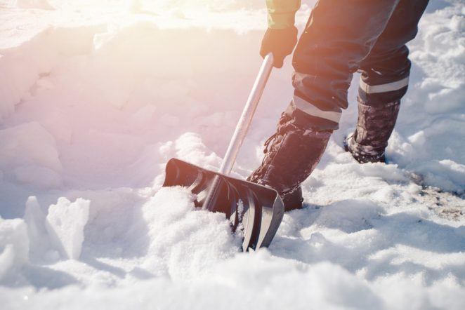 Shoveling Tips for a Safe, Snowy Workout