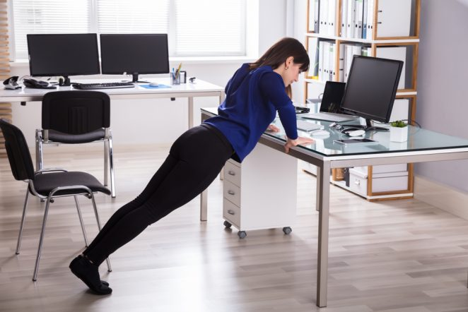 Workouts at Work: Tips to Turn Your Workspace into a Fitness Zone