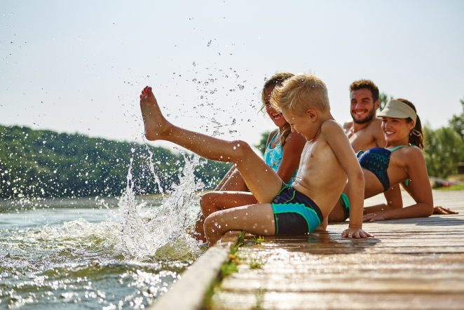 End of Summer Healthy and Active Family Fun