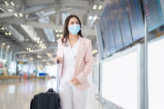 ThinkHealth business traveling for work