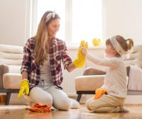 Disinfect and Be Fit: Exercising While Cleaning During COVID-19
