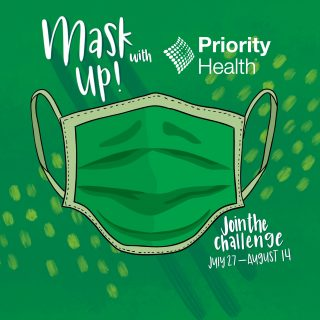 Mask up Michigan and Priority Health for Good