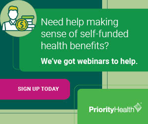 Priority Health self funded webinar ad