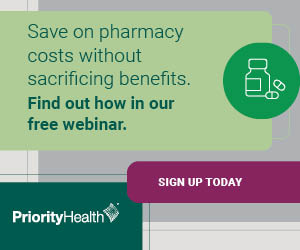 Pharmacy benefits webinar ad