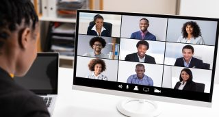 ThinkHealth wellness in business combating virtual meeting burn out
