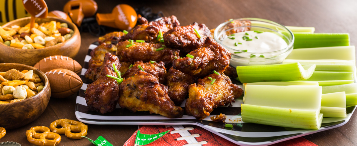 Touchdown! Healthy Treats for your Next Tailgate